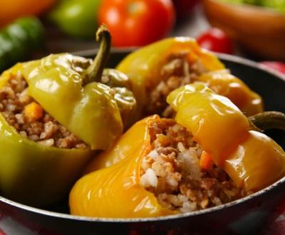 punjene paprike sa mlevenim mesom